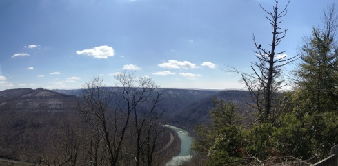 Grandview State Park - Turkey Spur Overlook 3/29/13